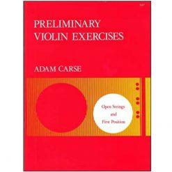 Adam Carse Preliminary Violin Exercises