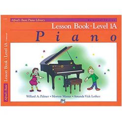 Alfred's Basic Piano Course Lesson Book Level 1A