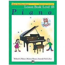 Alfreds Basic Piano Library Lesson Book 1B & Cd