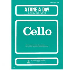 A Tune A Day Cello Book 1 by Paul Hurferth