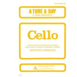 A Tune a Day - Cello Book 2 By C. Paul Herfurth