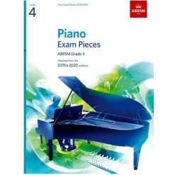 Piano Exam Pieces 2019 and 2020 - Grade 4