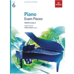 Piano Exam Pieces 2019 and 2020 - Grade 6