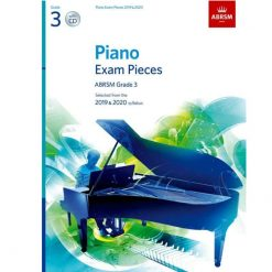 Piano Exam Pieces 2019 and 2020 - Grade 3