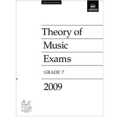 Theory of Music Exams, Grade 7, 2009 ABRSM