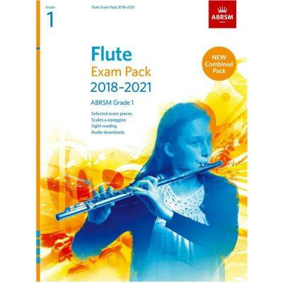 Flute Exam Pack Grade 1 2018-2021: