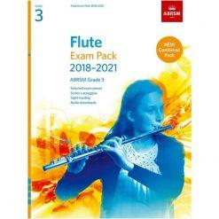 Flute Exam Pack Grade 3 2018-2021