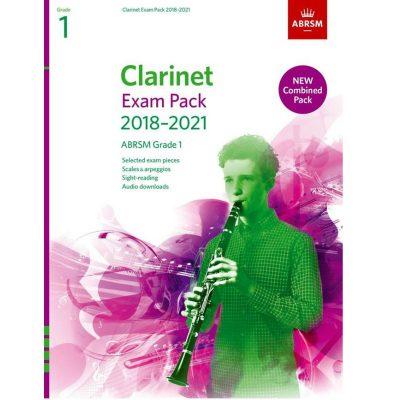 Clarinet Exam Pack Grade 1 2018-2021: