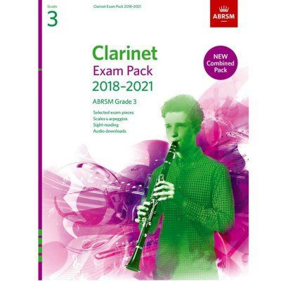 Clarinet Exam Pack Grade 3 2018-2021