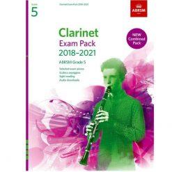 Clarinet Exam Pack Grade 5 2018-2021