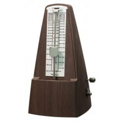 Montford Metronome Pyramid MFMT30 - Satin Wood Finish