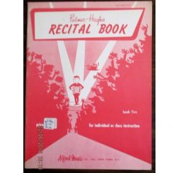 Palmer-Hughes Accordion Course Recital Book Bk 5