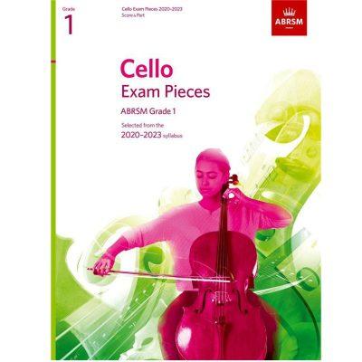 Cello Exam Pieces 2020-2023 Grade 1 Score and Part Abrsm