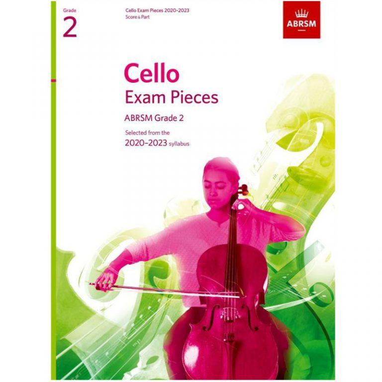 Cello Exam Pieces 2020-2023 Grade 2 Abrsm Sound Shop
