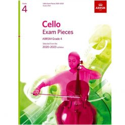 Cello Exam Pieces 2020-2023 Grade 4 Score and Part