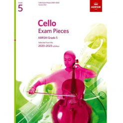Cello Exam Pieces 2020-2023 Grade 5 abrsm score and part