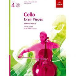 Cello Exam Pieces 2020-2023 Grade 4: Score part and Cd Abrsm