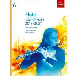 Flute Exam Pieces 2018 - 2021, ABRSM Grade 6