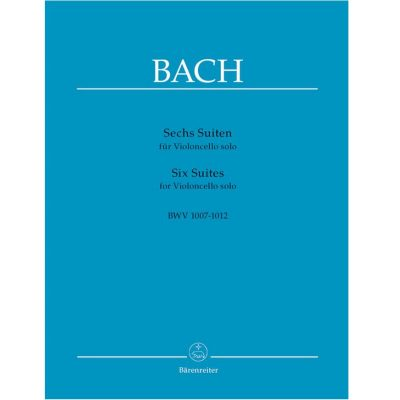 Bach Six Suites For Cello Solo BWV 1007-1012