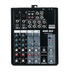 DAP Audio GIG-62 6 Channel live mixer D2281 Avaiable @ The Sound Shop Drogheda