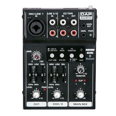 Dap Audio Mini-GIG Mixing Console