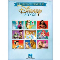 The Illustrated Treasury of Disney Songs - 7th Edition Pvg