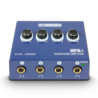 LD Systems HPA 4 Headphone Amplifier 4-channel