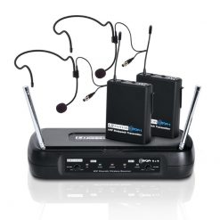 LD Systems ECO 2X2 BPH 2 Wireless Microphone System (LDWSECO2X2BPH2)