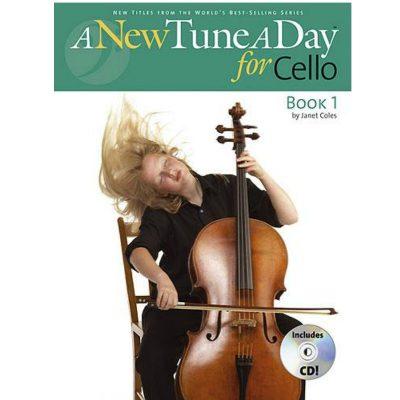 A New Tune A Day: Cello - Book 1 & Cd