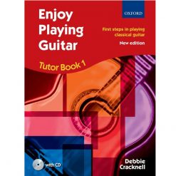 Enjoy Playing Guitar 1 with cd by Debbie Cracknell