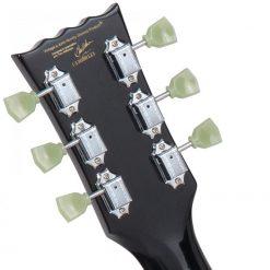 Vintage V100 Reissued Electric Guitar, Gloss Black