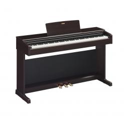 Digital piano featuring GHS keyboard and Yamaha CFX concert grand piano sample.