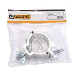 RIGGATEC RIG 400 200 000 Halfcoupler Small Silver max. load 100kg (48 - 51 mm)