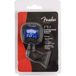 Fender® FT-1 Pro Clip-On Guitar Tuner