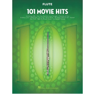 101 Movie Hits for Flute