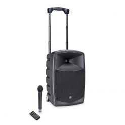 LD Systems ROADBUDDY 10 B5 Battery Powered Bluetooth Speaker with Mixer and Wireless Microphone