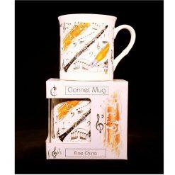 Fine China Mug Clarinet Design sound shop