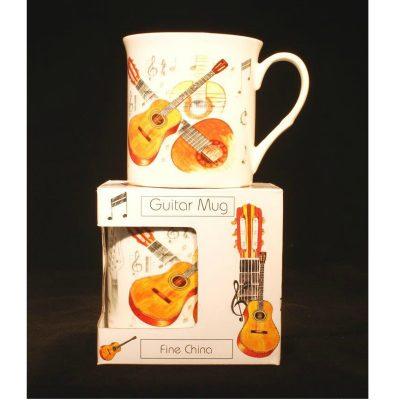 Fine China Mug Guitar Design