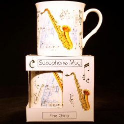Fine China Mug Saxophone Design