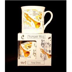 Fine China Mug Drum Design