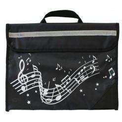 Musicwear - Wavy Stave Music Bag - Black
