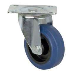DAP Audio Blue Wheel, 100 mm Swivel, without brake Flightcases Hardware