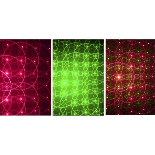 Stagg SLR CITY 9-3 BK Galaxy Aperture Effect City Laser