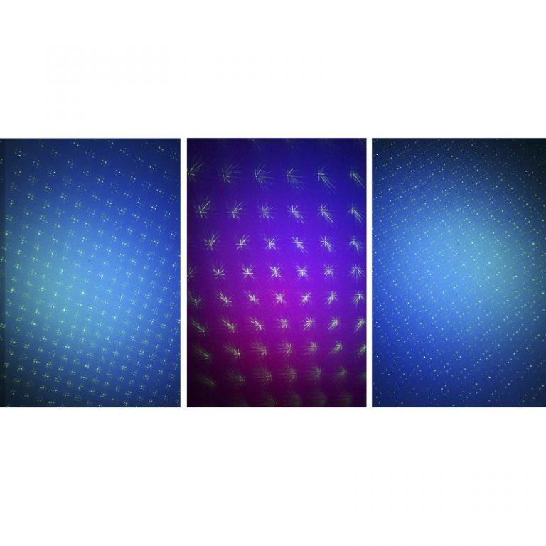 Stagg SLR CITY 16-3BK Firefly/Twinkling Effect City Laser 2in1 + LED
