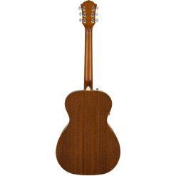 Fender FA-235E Concert Acoustic Guitar Back