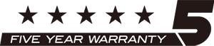 Boss 5 Year Warranty compact series
