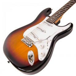 Vintage V6 Reissued Electric Guitar V6SSB