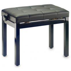 Stagg Piano Bench Black PB36BLP