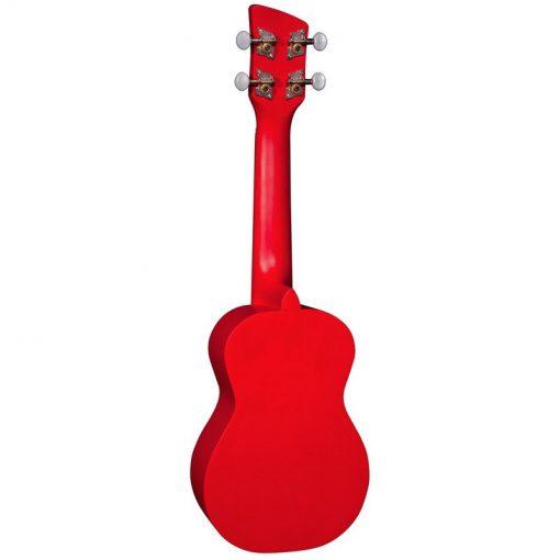 Brunswick Soprano Ukulele BU1S Red