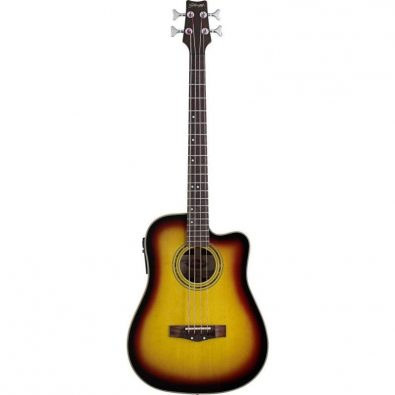 Stagg Acoustic Bass Guitar AB203CE-SB